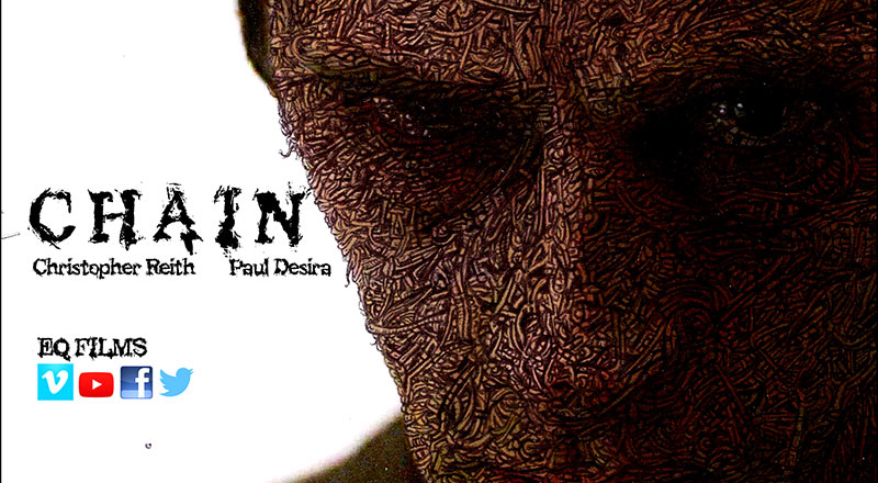 Chain horror film poster