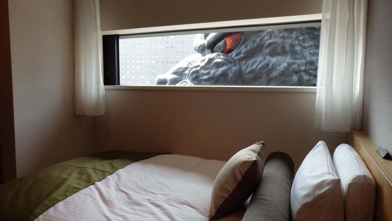 Godzilla Hotel Room