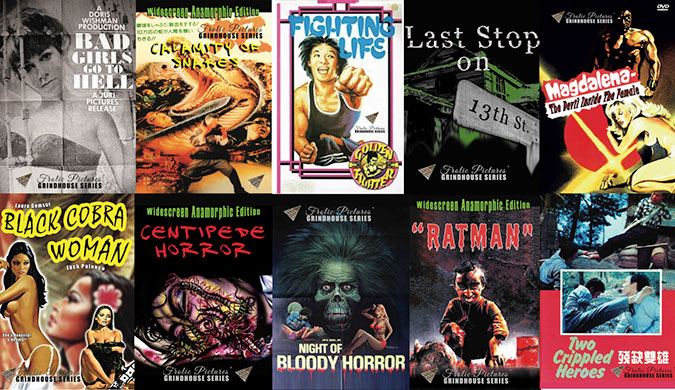 Frolic Pictures Releases New Grindhouse Series On Dvd