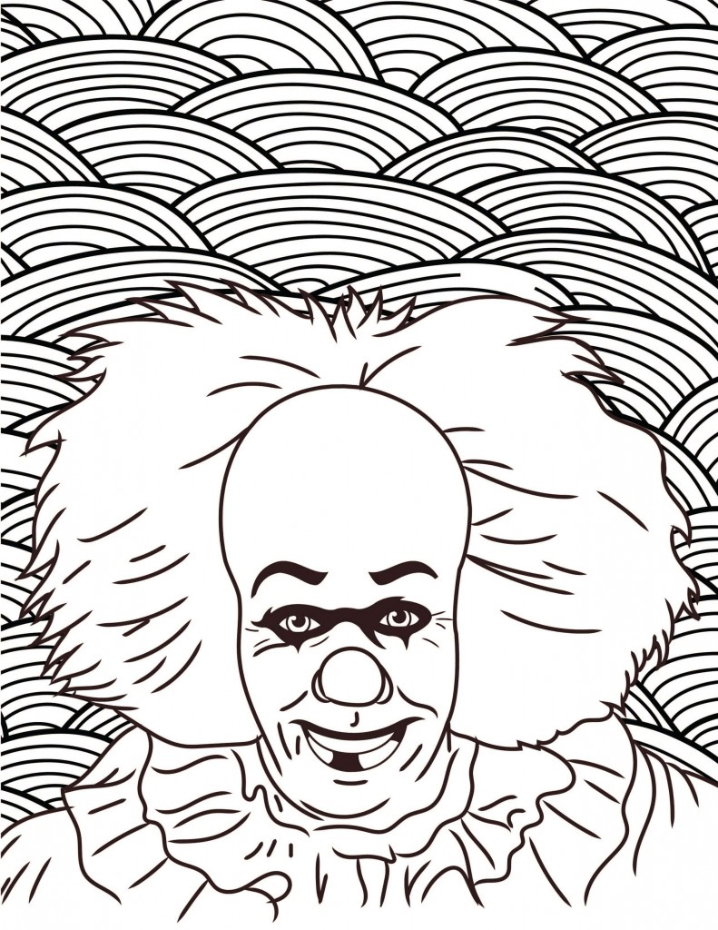 HORROR-COLORING-PAGES-Pennywise-Stephen-King-IT