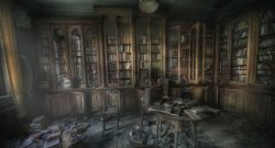 spooky-library